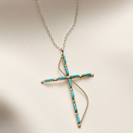 Zuni Cross Necklace