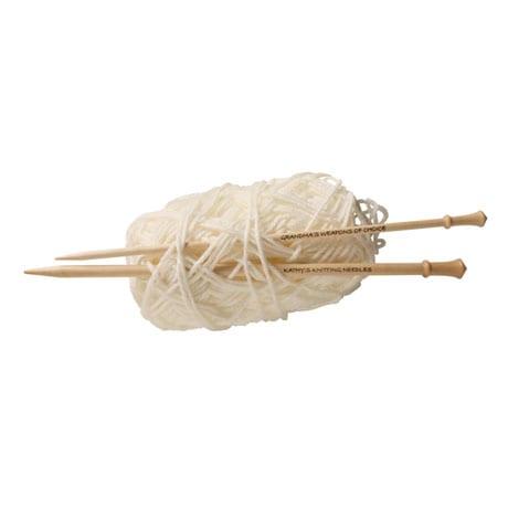 Personalized Knitting Needles - Size 9