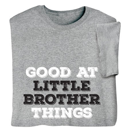 Personalized Good At Things Shirts