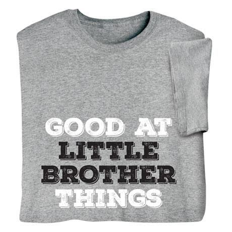 Personalized Good At Things Shirts