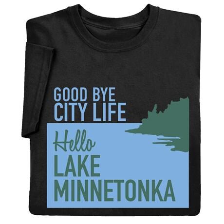 Personalized Goodbye City Life Shirts