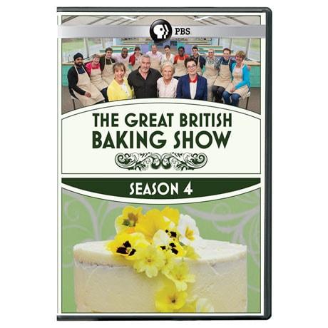 The Great British Baking Show Season 4 DVD