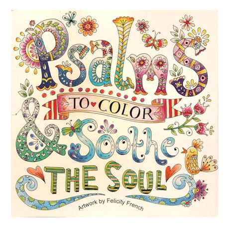 Psalms to Color Books