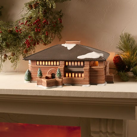 Frank Lloyd Wright® Light-Up Heurtley House
