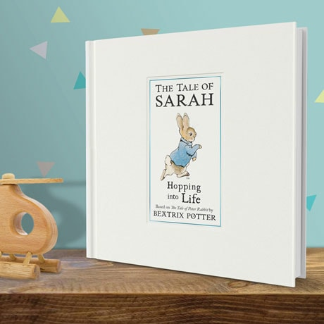 Personalized Hopping into Life Book