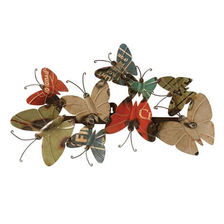 Metal Butterfly Wall Art