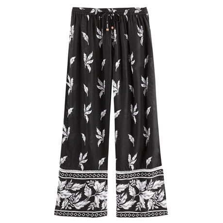 Leaves and Flowers Lounge Pants