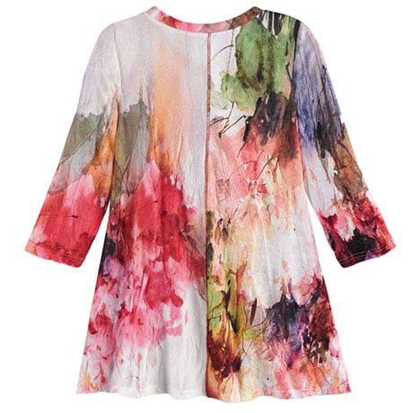 Watercolor Garden Tunic