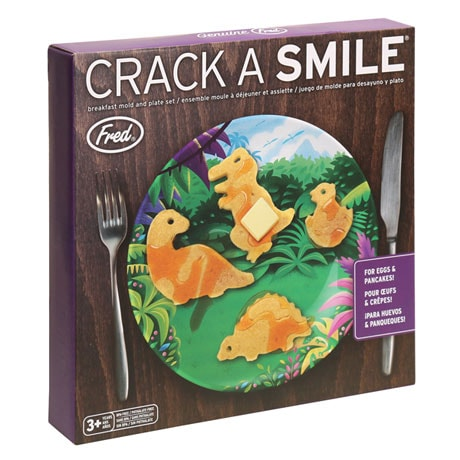 Dinosaur Breakfast Mold and Plate Set