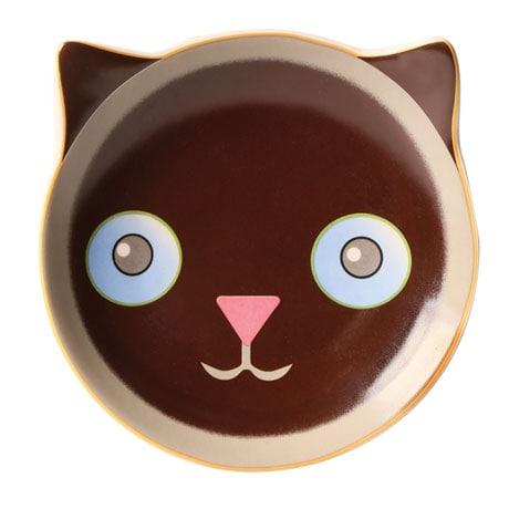 Fine Felines Dessert Plates