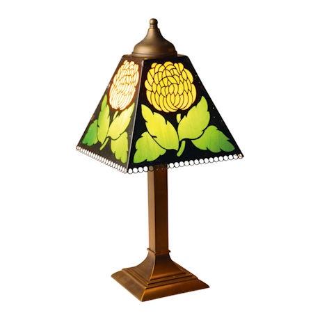 Chrysanthemums Lamp
