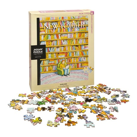 Roz Chast Shelved Puzzle
