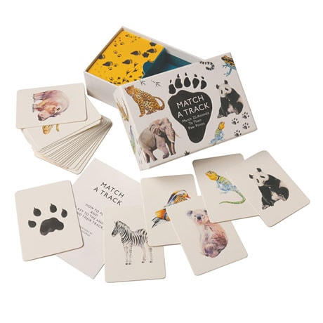 Match a Track Card Game