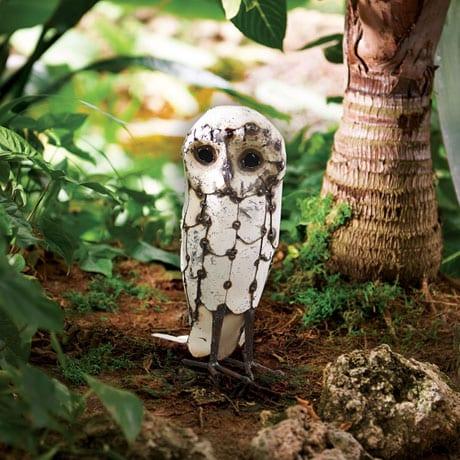 Snowy Owl Garden Art ...