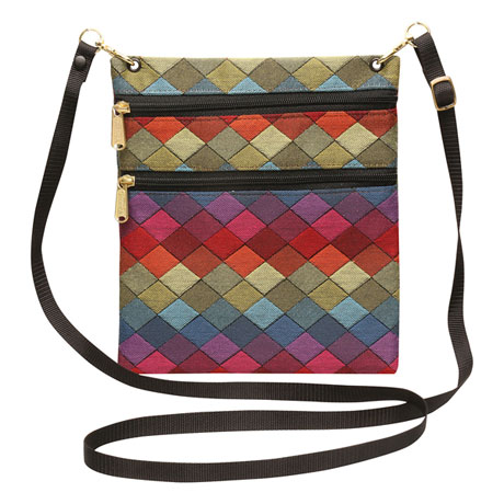 Colorblocked Jewels Crossbody Handbag