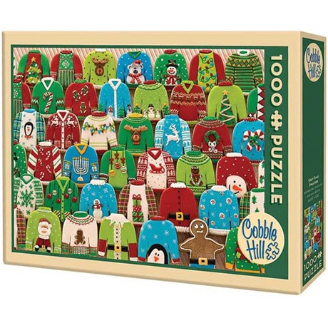 Ugly Xmas Sweaters 1000 Piece Puzzle