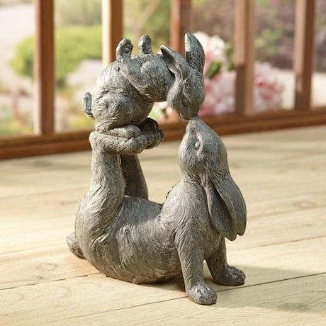 Give Us a Kiss Garden Sculpture