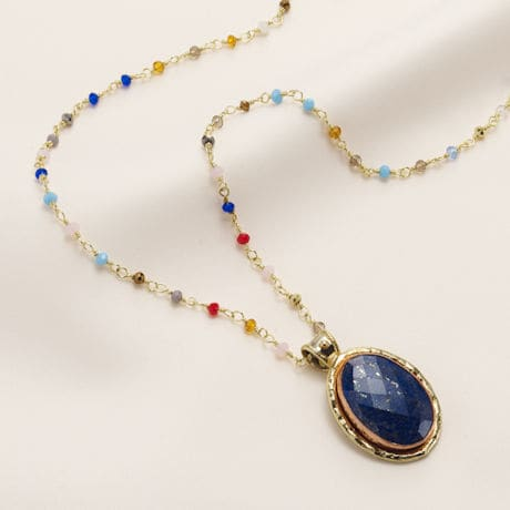 Lavish Lapis Necklace
