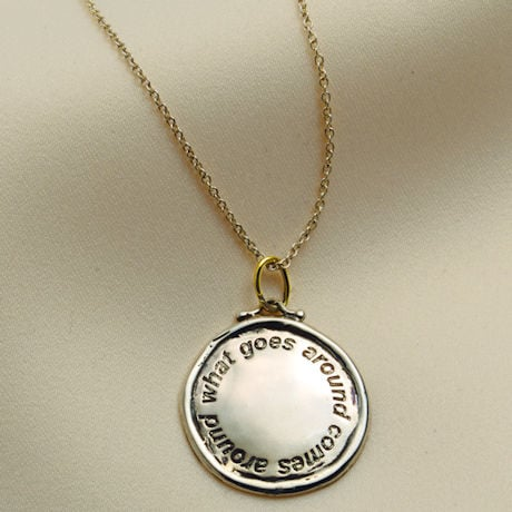 What Goes Around, Comes Around Necklace