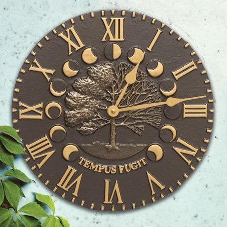 Tempus Fugit Outdoor Clock Time