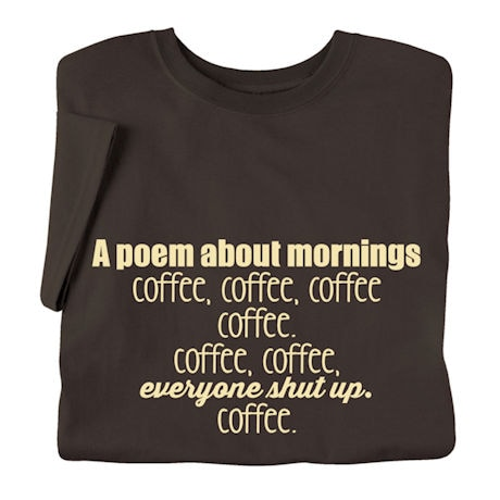 A Poem About Mornings Shirts