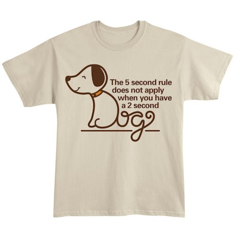 5 Second Rule Shirts