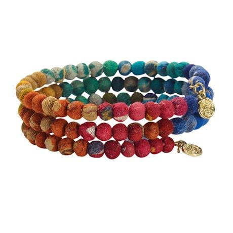 Kantha Bead Bracelet
