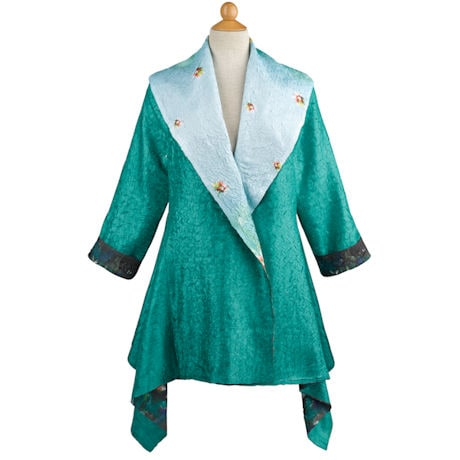 Reversible Jade Princess Jacket