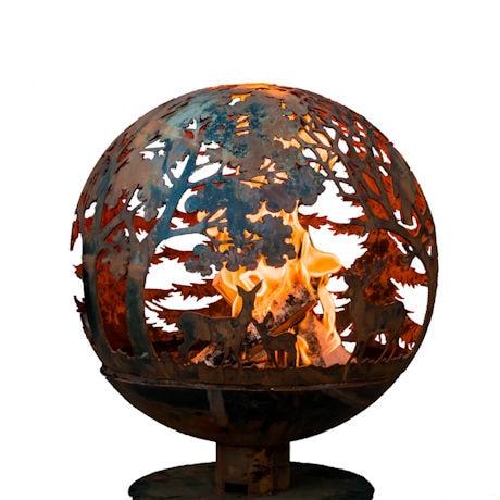 Wildlife Fire Globe
