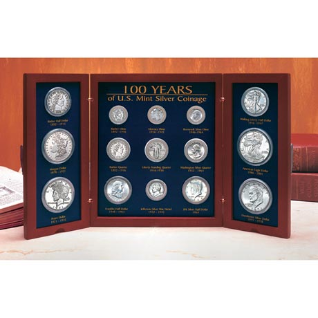 100-Years Of U.S Mint Coin Designs