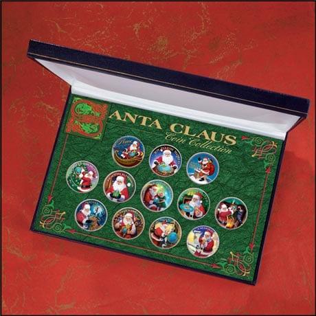 Santa Claus Coin Collection