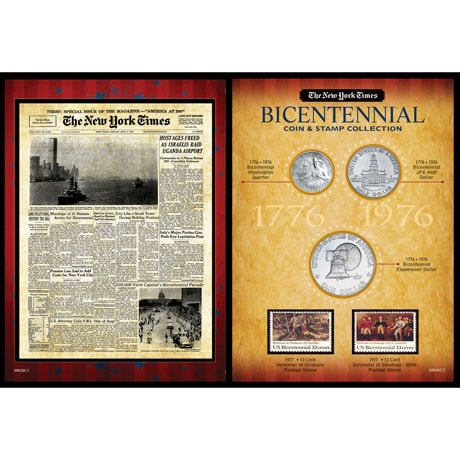 New York Times Bicentennial Coin Collection