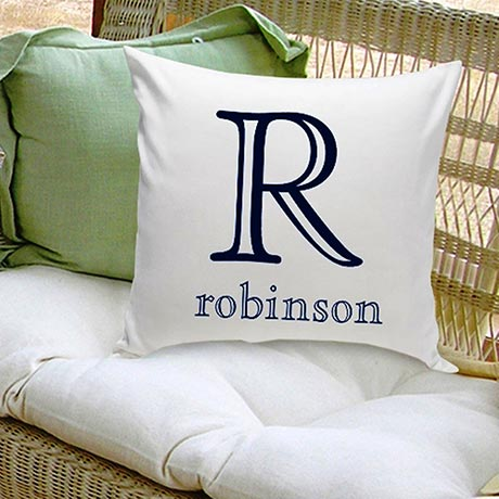 Family Name Personalized Decorative Pillows