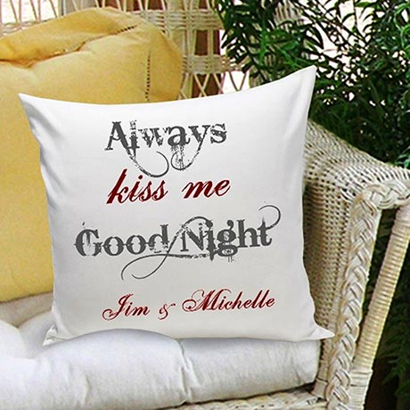 Couples & Love Personalized Throw Pillows