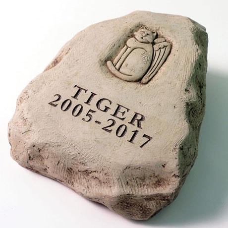Personalized Cat Memorial Stone