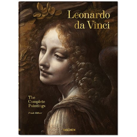 Leonardo Da Vinci Complete Paintings Book
