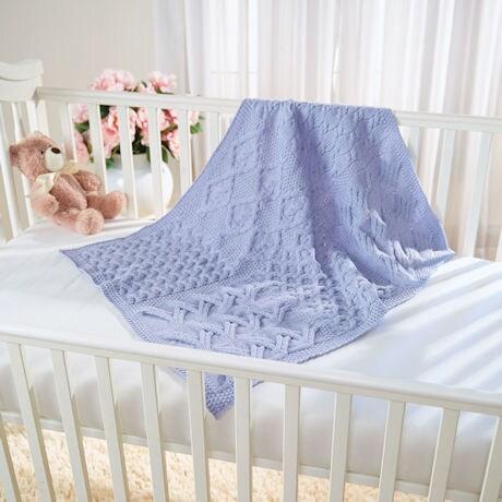 Irish Merino Baby Blanket