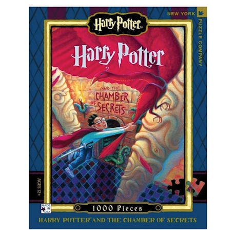 Harry Potter Chamber of Secrets Book Cover 1000 pc Puzzle