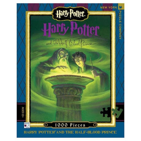 Harry Potter Half-Blood Prince Book Cover 1000 pc Puzzle