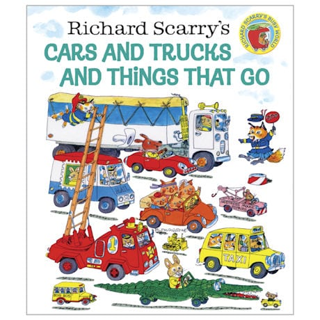 Cars & Trucks & Things That Go Book