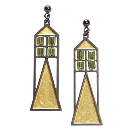Babson Window Earrings