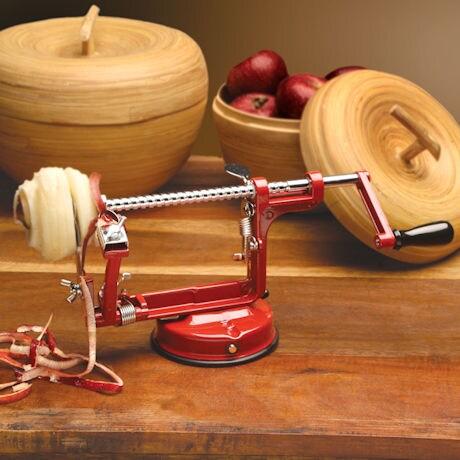 Mrs. Anderson's Apple Peeling Machine