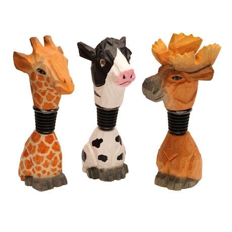 Animal Bottle Stoppers