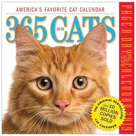 365 Cats 2019 Page-A-Day Calendars