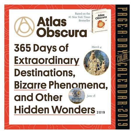 Atlas Obscura 2019 Page-A-Day Calendar