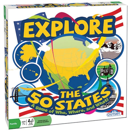 Explore the 50 States Game