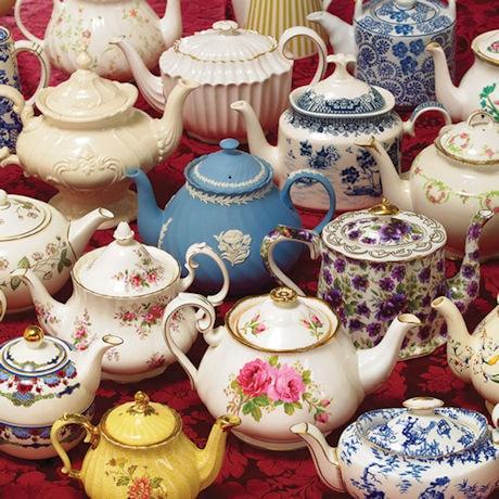 Teapots 1000 Piece Jigsaw Puzzle