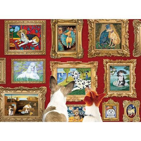 Dog Gallery 1000 Piece Jigsaw Puzzle