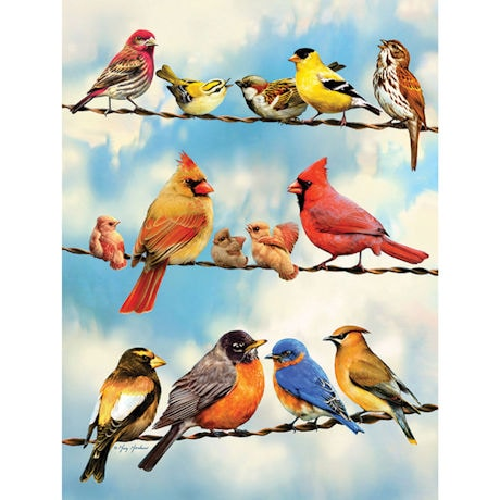 Birds on a Wire 500 Piece Jigsaw Puzzle