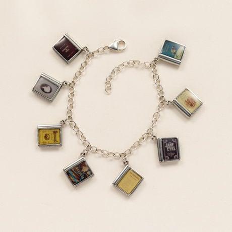 Classic Literature Charm Bracelet